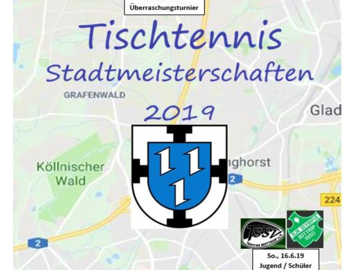 Tischtennis Bottroper Stadtmeisterschaften 2019